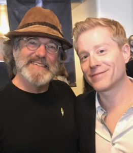 Paul Stamets and actor Anthony Rapp.
