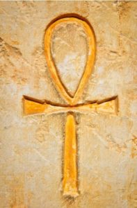 Egyptian Ankh, theorized to represent a mushroom